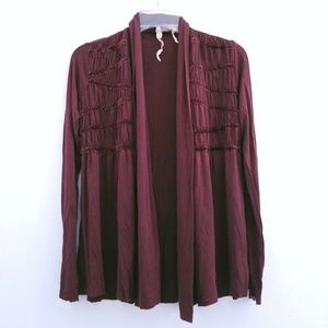 Bailey 44 Burgundy Tizzy Stretchy Sweater